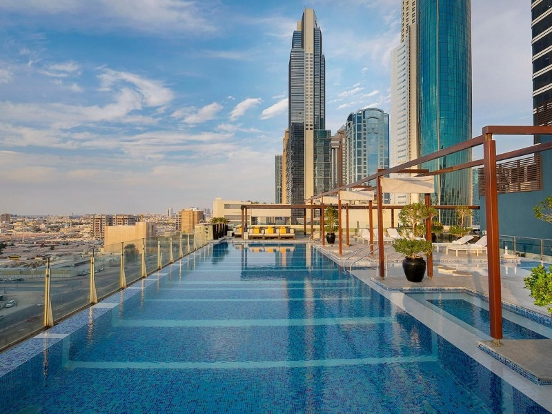 2 Bedroom Apartment For Short Term Rental in  Nassima Tower,  Sheikh Zayed Road | 5