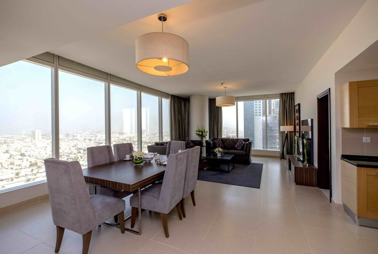 3 Bedroom Apartment For Short Term Rental in  Nassima Tower,  Sheikh Zayed Road   1