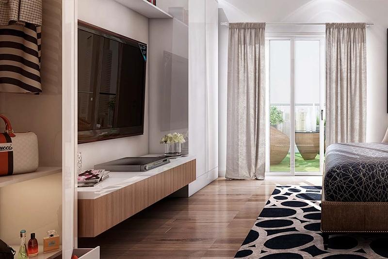 2 Bedroom Apartment For Sale in  Azizi Star Serviced Apartments,  Al Furjan | 3