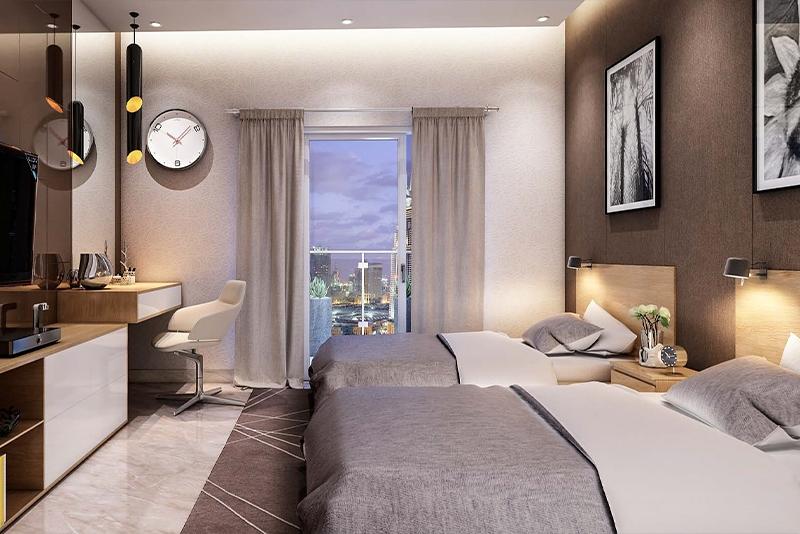2 Bedroom Apartment For Sale in  Azizi Star Serviced Apartments,  Al Furjan | 5