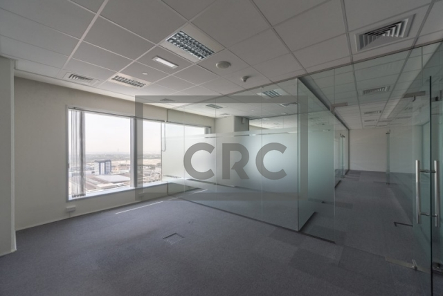 office for rent in sheikh zayed road, conrad commercial tower | 8