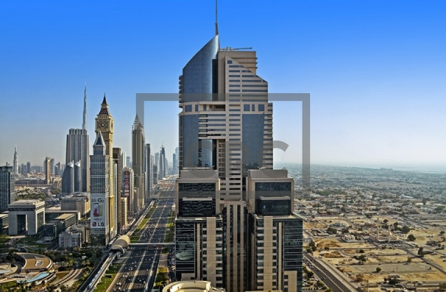 office for rent in sheikh zayed road, conrad commercial tower | 14
