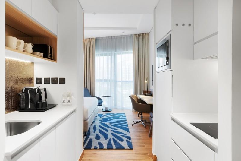 Studio Apartment For Rent in  Adagio Premium The Palm,  Palm Jumeirah | 1