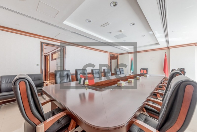furnished office for sale in jumeirah lake towers, almas tower | 8