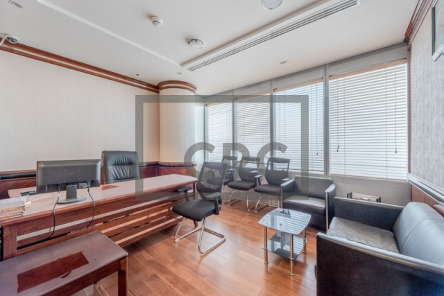 furnished office for sale in jumeirah lake towers, almas tower | 4
