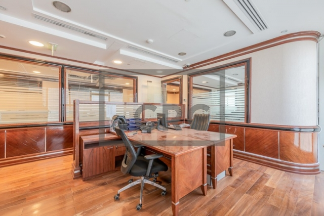 furnished office for sale in jumeirah lake towers, almas tower | 5