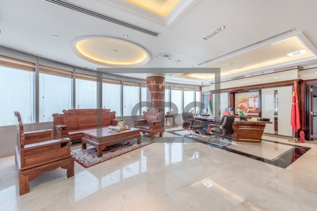 furnished office for sale in jumeirah lake towers, almas tower | 3