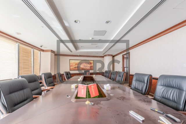 furnished office for sale in jumeirah lake towers, almas tower | 9