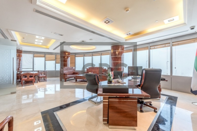 furnished office for sale in jumeirah lake towers, almas tower | 1