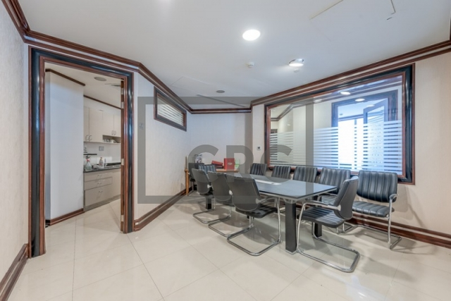 furnished office for sale in jumeirah lake towers, almas tower | 11
