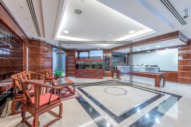 furnished office for sale in jumeirah lake towers, almas tower | 2