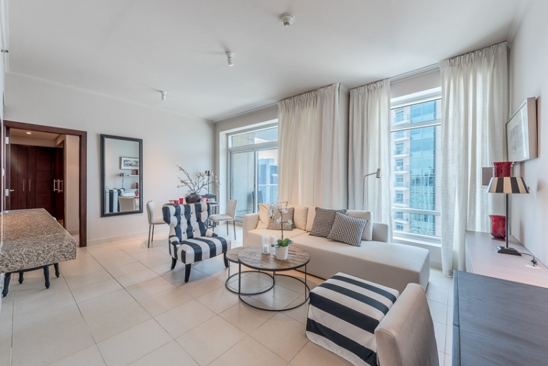 1 Bedroom Apartment For Rent in  Burj Views B,  Downtown Dubai   4