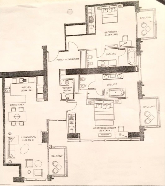 2 Bedroom Apartment For Sale in  The Address Dubai Marina,  Dubai Marina   11