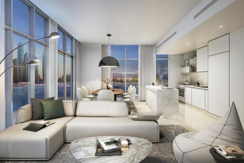 1 Bedroom Apartment For Sale in  Beach Vista,  EMAAR Beachfront   0