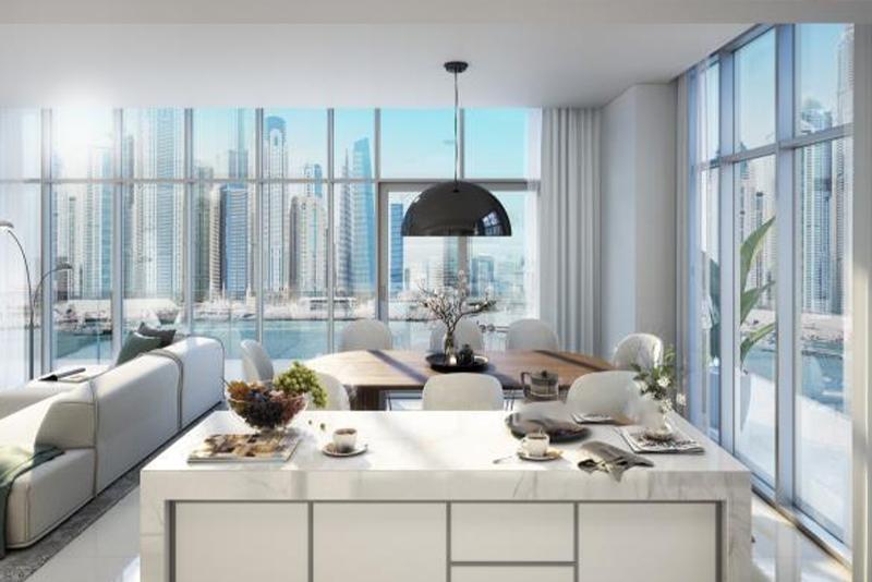 1 Bedroom Apartment For Sale in  Beach Vista,  EMAAR Beachfront   1