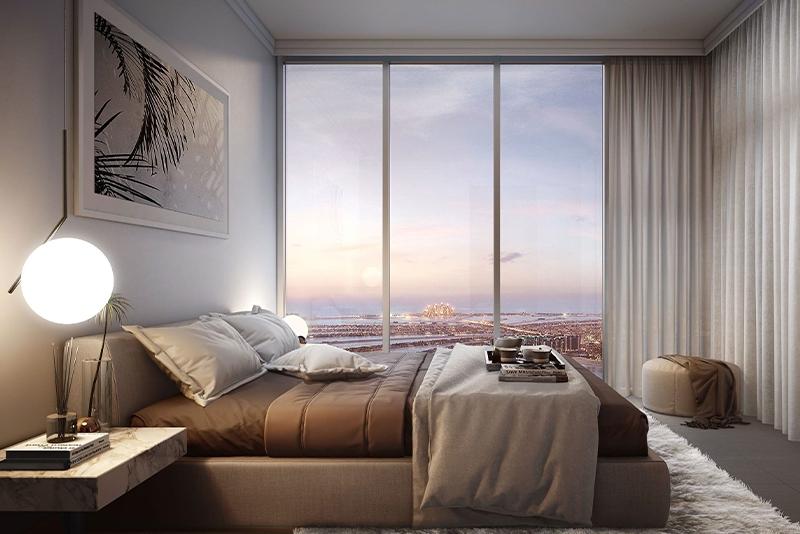 1 Bedroom Apartment For Sale in  Beach Vista,  EMAAR Beachfront   4