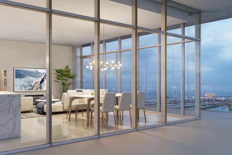1 Bedroom Apartment For Sale in  Beach Vista,  EMAAR Beachfront   5