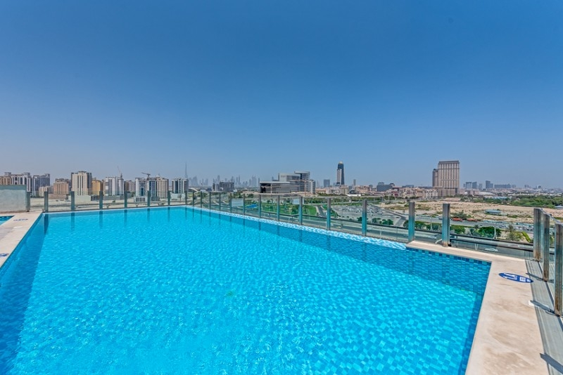 2 Bedroom Apartment For Rent in  Iris Amber Tower,  Al Jaddaf | 12