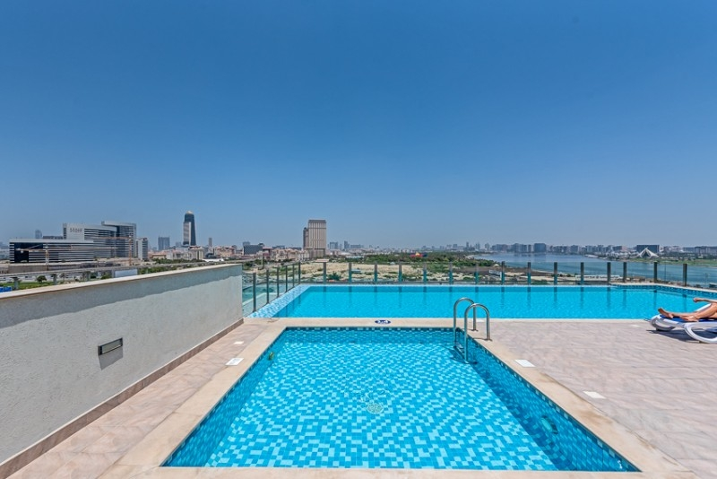 2 Bedroom Apartment For Rent in  Iris Amber Tower,  Al Jaddaf | 13