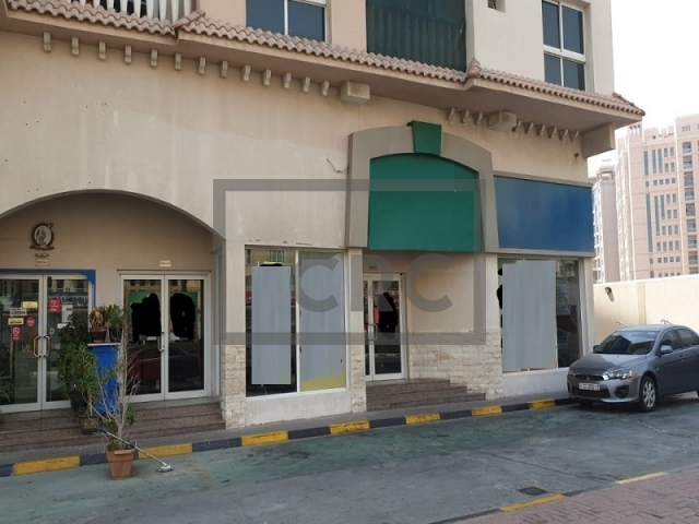 retail for rent in international city, riviera residence | 14