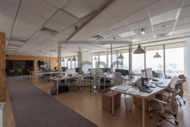 furnished office for sale in motor city, control tower | 1
