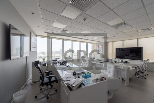 furnished office for sale in motor city, control tower | 2
