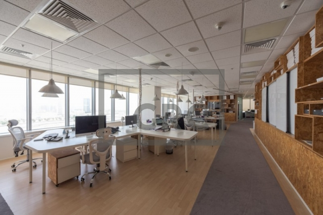 furnished office for sale in motor city, control tower | 6