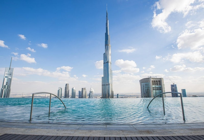 2 Bedroom Apartment For Rent in  The Address Sky View Tower 2,  Downtown Dubai | 9