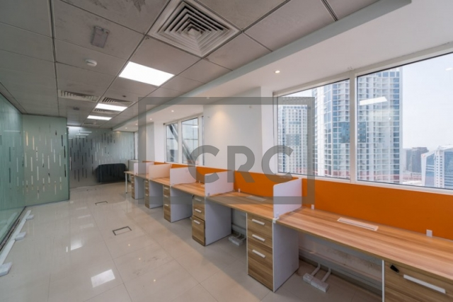 1,018 sq.ft. Office in Business Bay, Westburry Tower 1 for AED 1,000,000