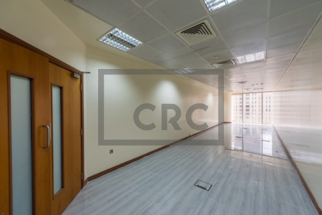 493 sq.ft. Office in Sheikh Zayed Road, Al Saqr Business Tower for AED 55,000