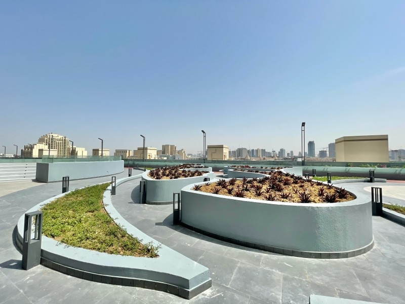 Studio Apartment For Rent in  Bloom Towers,  Jumeirah Village Circle   9