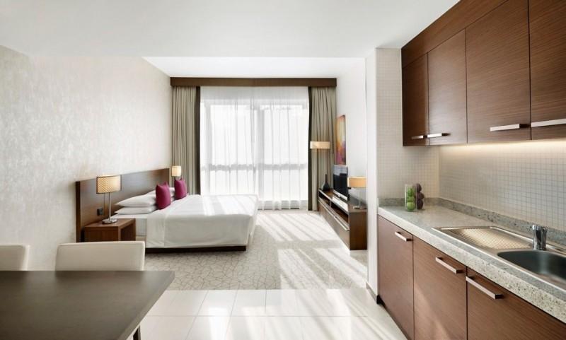 Studio Hotel Apartment For Rent in  Hyatt Place,  Al Rigga | 0