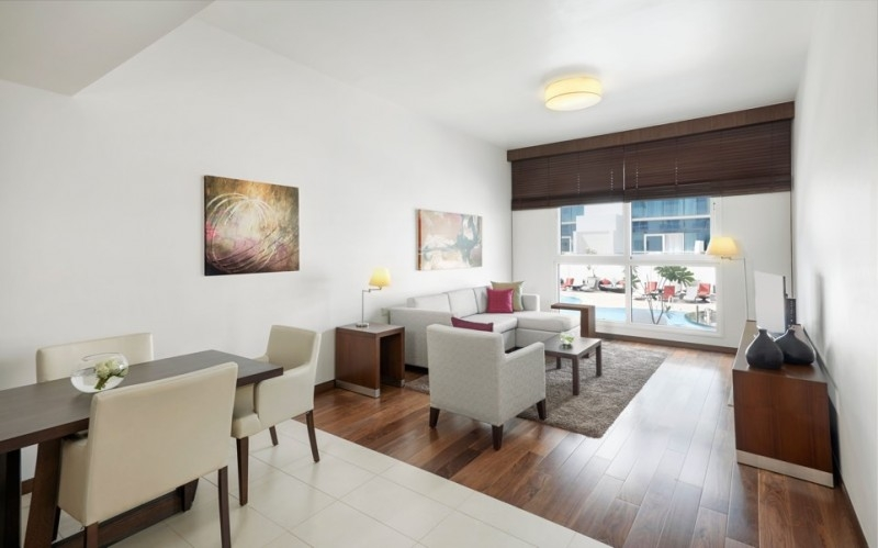 1 Bedroom Hotel Apartment For Rent in  Hyatt Place,  Al Rigga | 0