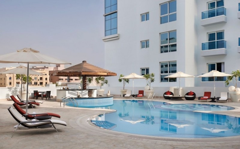 2 Bedroom Hotel Apartment For Rent in  Hyatt Place,  Al Rigga   5