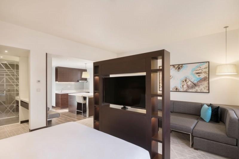 Studio Hotel Apartment For Rent in  Hyatt Place Dubai Baniyas Square,  Deira   1