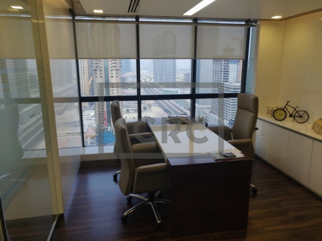 furnished office for sale in jumeirah lake towers, jumeirah business centre 4 | 4