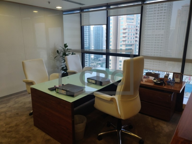 furnished office for sale in jumeirah lake towers, jumeirah business centre 4 | 5