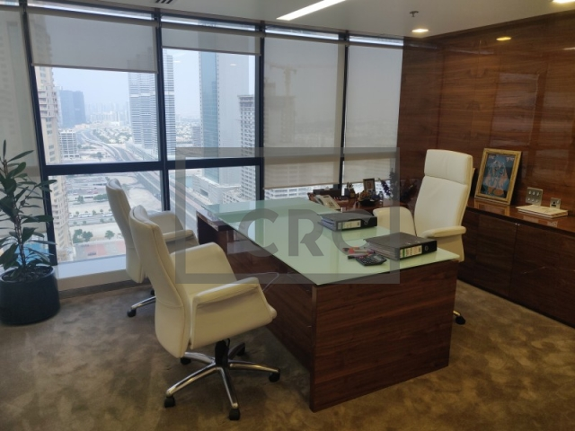 furnished office for sale in jumeirah lake towers, jumeirah business centre 4 | 1