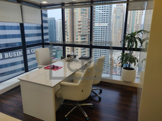 furnished office for sale in jumeirah lake towers, jumeirah business centre 4 | 6
