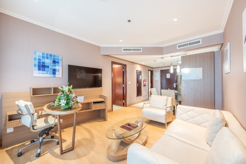 1 Bedroom Hotel Apartment For Rent in  Grand Stay Hotel,  Sheikh Zayed Road | 3
