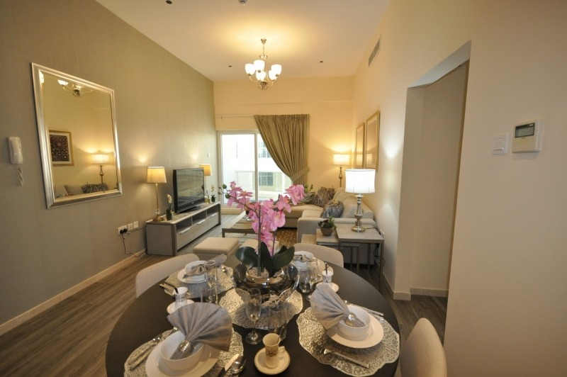 1 Bedroom Apartment For Rent in  Champions Tower 1,  Dubai Sports City   1
