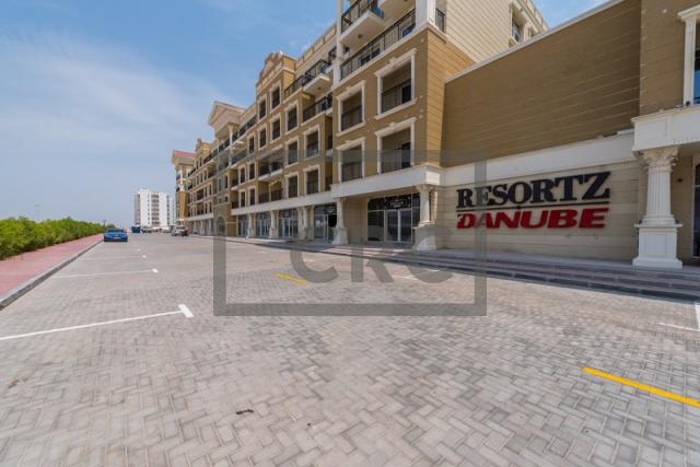 retail for rent in arjan, resortz by danube | 10