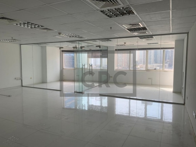 1,089 sq.ft. Office in Jumeirah Lake Towers, Hds Tower for AED 735,075