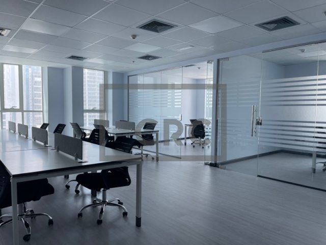 917 sq.ft. Office in Jumeirah Lake Towers, Preatoni Tower for AED 80,000