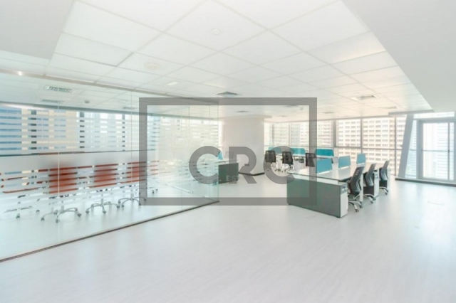 1,503 sq.ft. Office in Jumeirah Lake Towers, Indigo Icon for AED 1,317,108