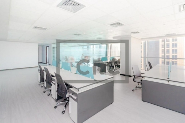 office for sale in jumeirah lake towers, indigo icon | 1