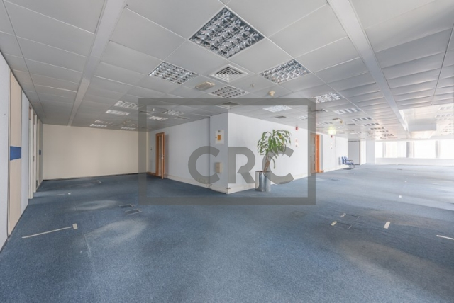 semi-furnished office for rent in sheikh zayed road, al moosa tower ii   1