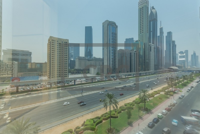 semi-furnished office for rent in sheikh zayed road, al moosa tower ii   4