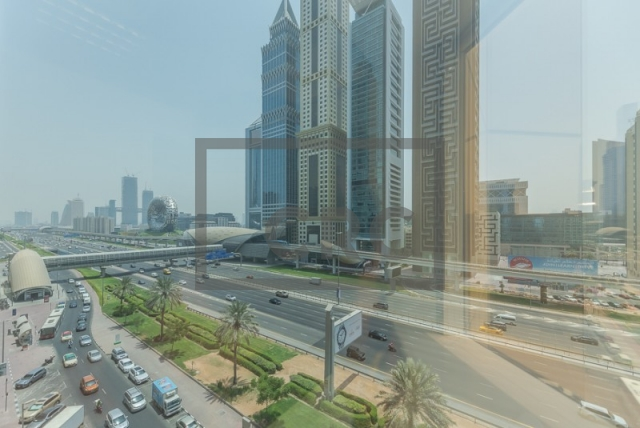semi-furnished office for rent in sheikh zayed road, al moosa tower ii   9