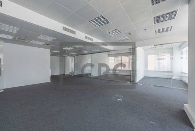 semi-furnished office for rent in sheikh zayed road, al moosa tower ii   10